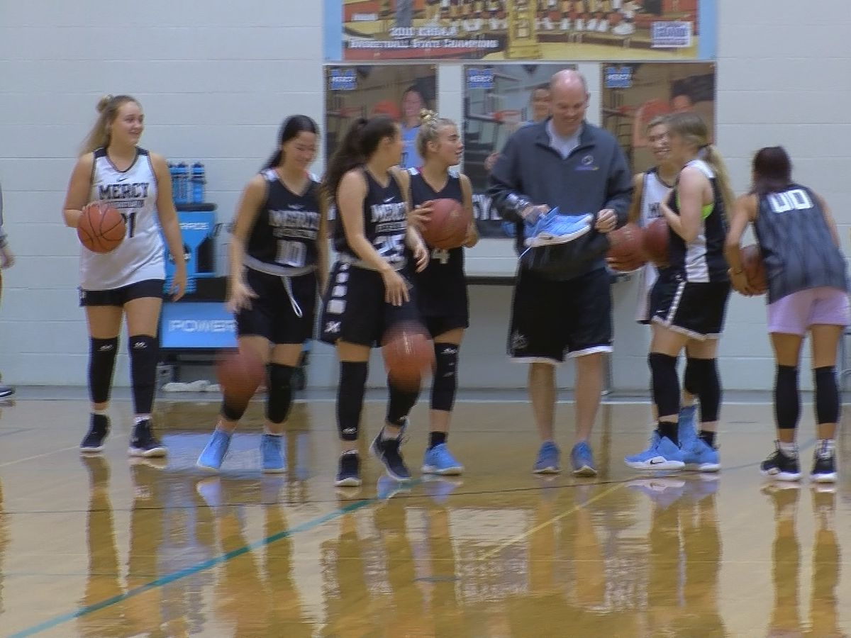 Mercy prepares for girls Sweet 16