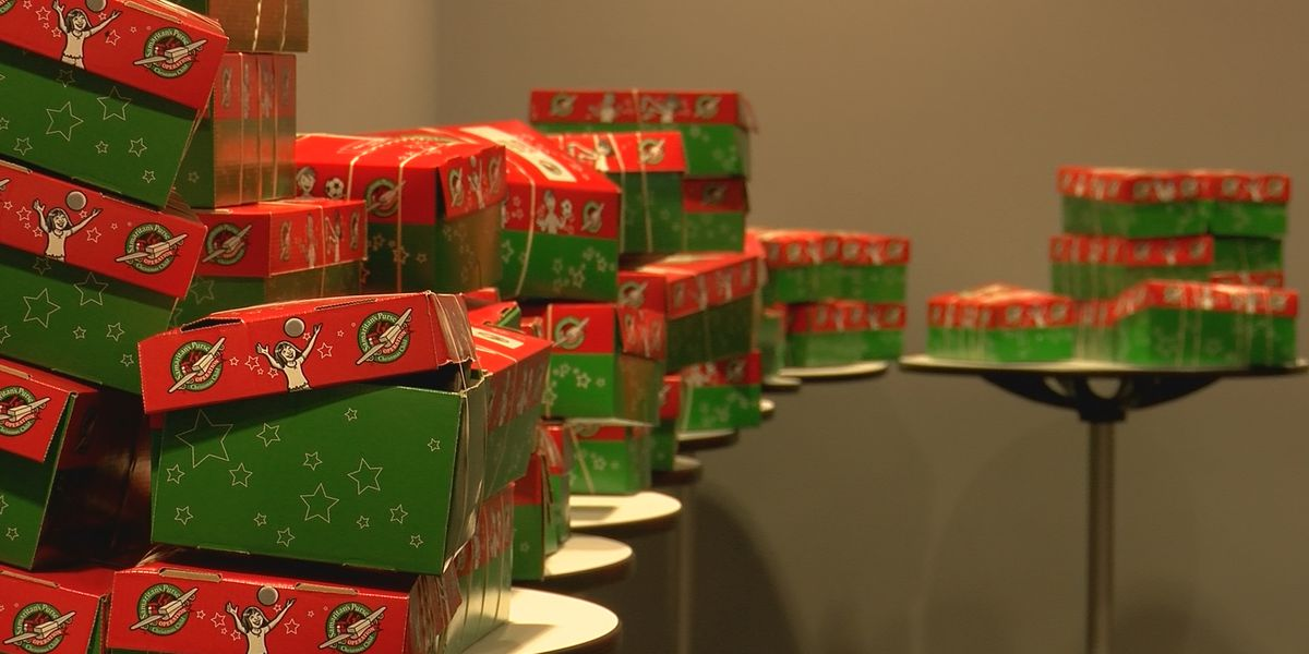 UofL Football gives back with Operation Christmas Child