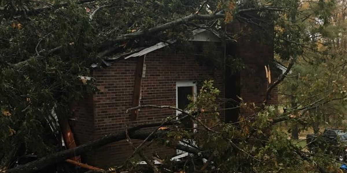 'Likely tornado' damaged homes, destroyed outbuildings in Hardin County