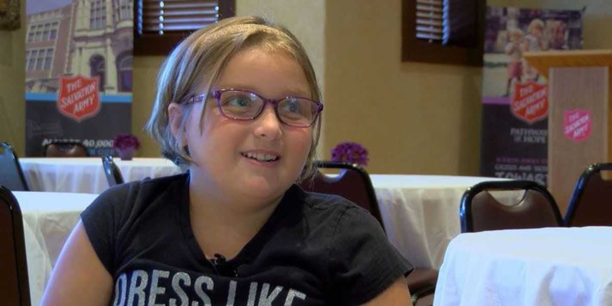 Louisville child tries new foods, makes friends at Salvation Army camp