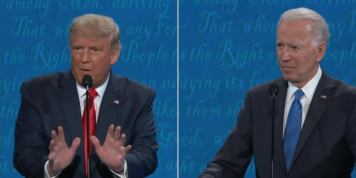 Upbeat Trump hits the trail, Biden tries debate cleanup