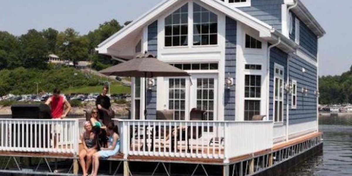 Floating Cabins Are The Newest Thing On Kentucky Lakes