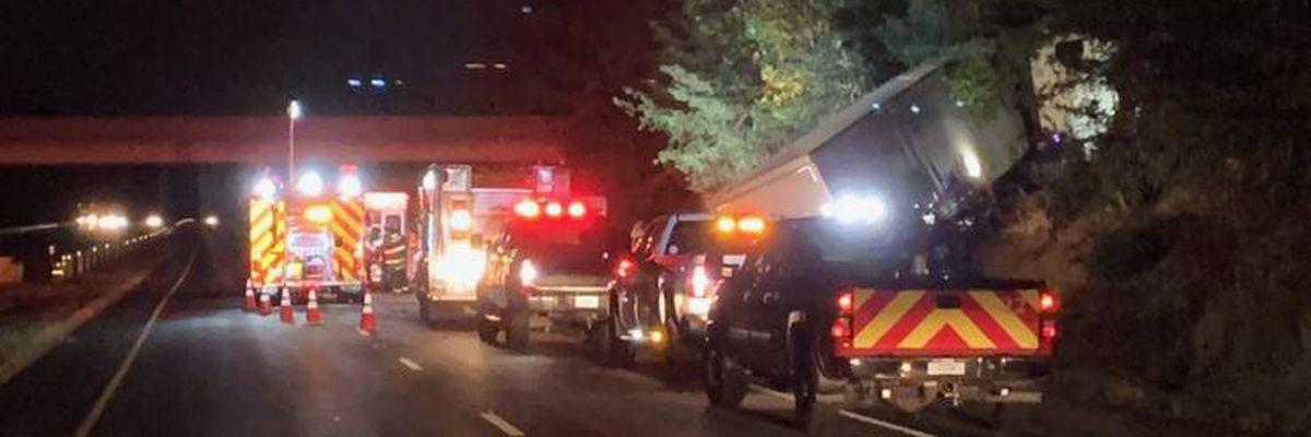 Semi driver dies in crash on I-65 after driver tries to warn others of disabled vehicle