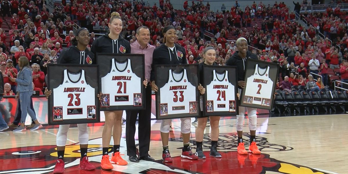 "#5 UofL celebrates ""Senior Day"" with 70-53 win over Virginia Tech"