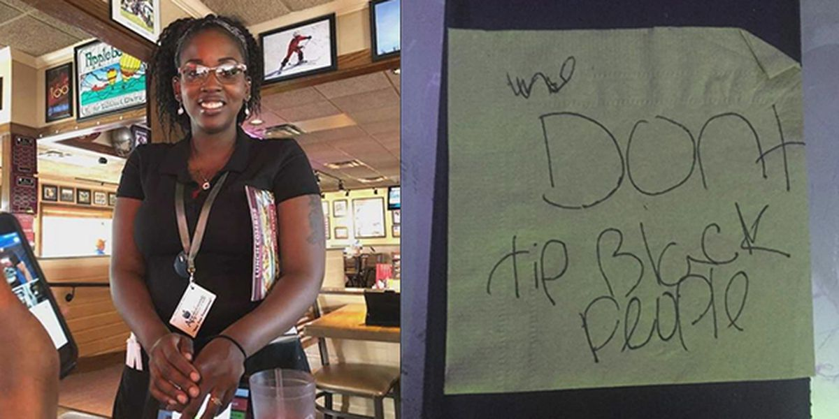 Racist note left instead of a tip at Kentucky Applebee's