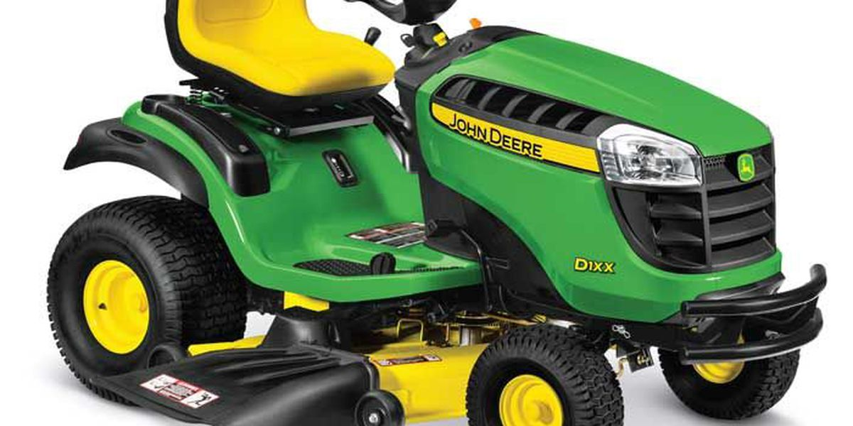 John Deere recalls lawn tractors due to crash hazard