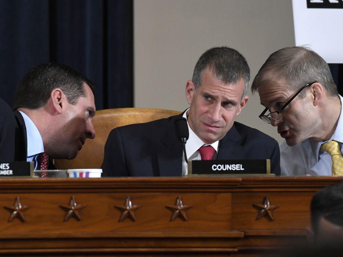 Battle lines between parties harden as Trump impeachment goes public