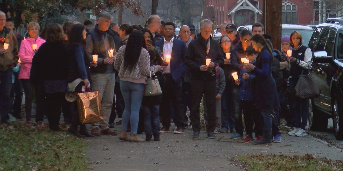 Dare to Care, Interfaith Paths to Peace hold vigil, walk for Bobby Ellis