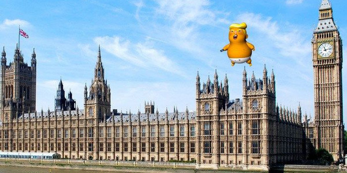 'Trump Baby' balloon gets mayor's OK to fly over London during president's visit