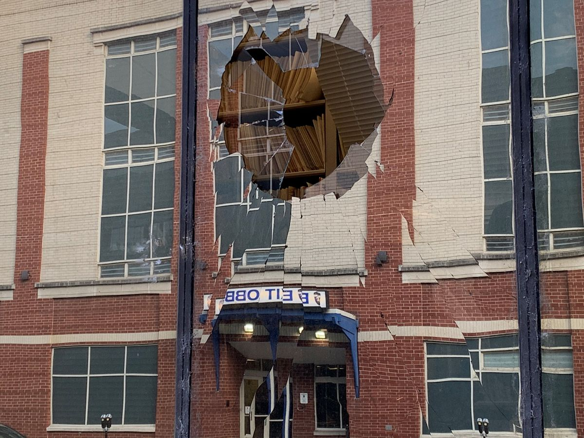 Damage left in downtown Louisville, LMPD prepares for more protests