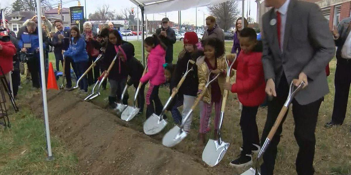 Groundbreaking for downtown Jeffersonville elementary