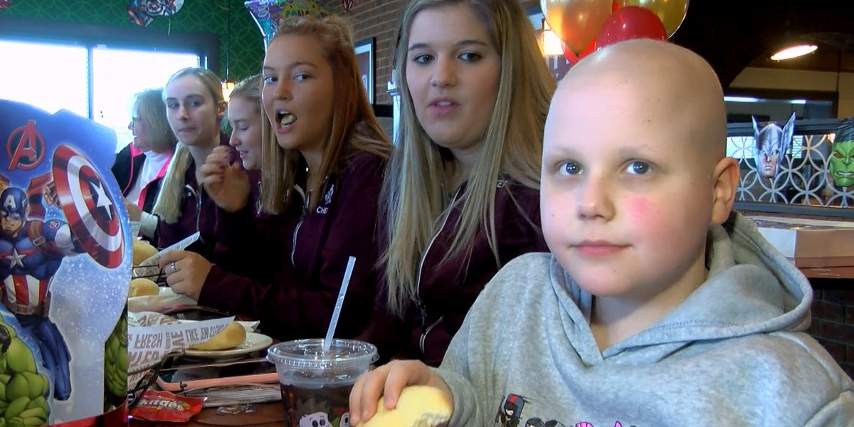 'Courageous Carter', boy who received thousands of birthday cards, has end of chemo party