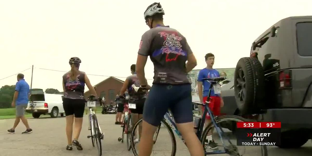1,000-mile bike ride honors fallen officers