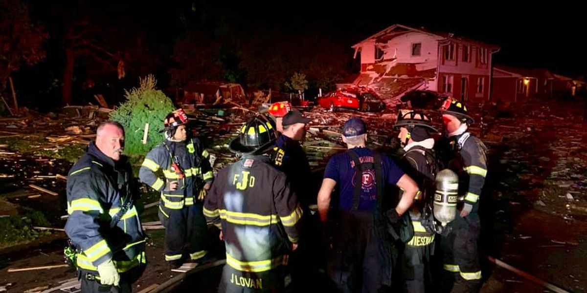 1 killed, 3 injured in Jeffersonville home explosion
