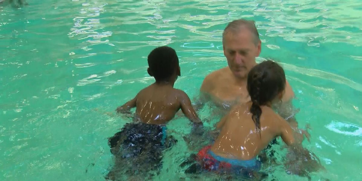 Summer swim instruction continues at Central High School