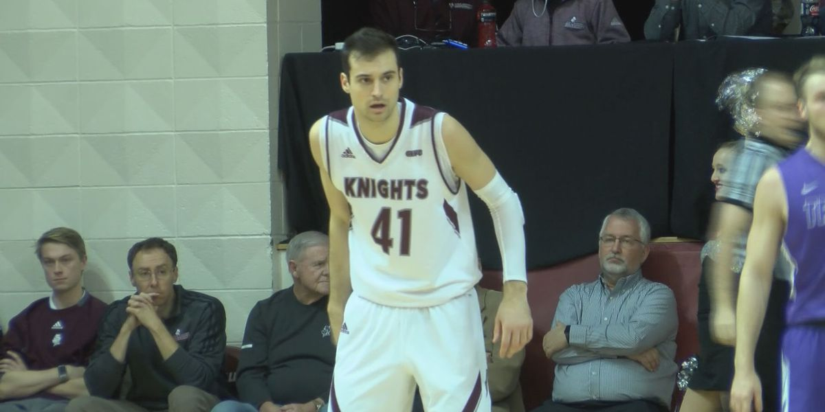 Bellarmine's Eberhard named GLVC Player of the Week