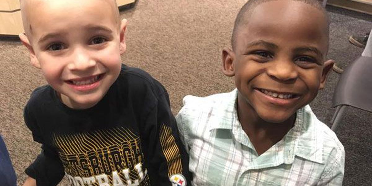 VIRAL VIDEO: Louisville preschoolers - 1 white, 1 black - get matching haircuts to fool teacher