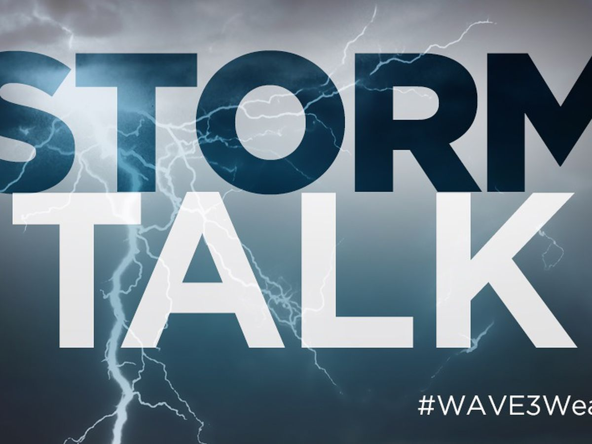 StormTALK! Weather Blog: Wednesday Update