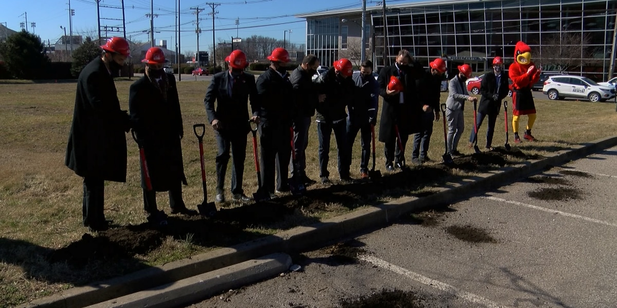 UofL breaks ground on new 'Denny Crum Hall' dormitories