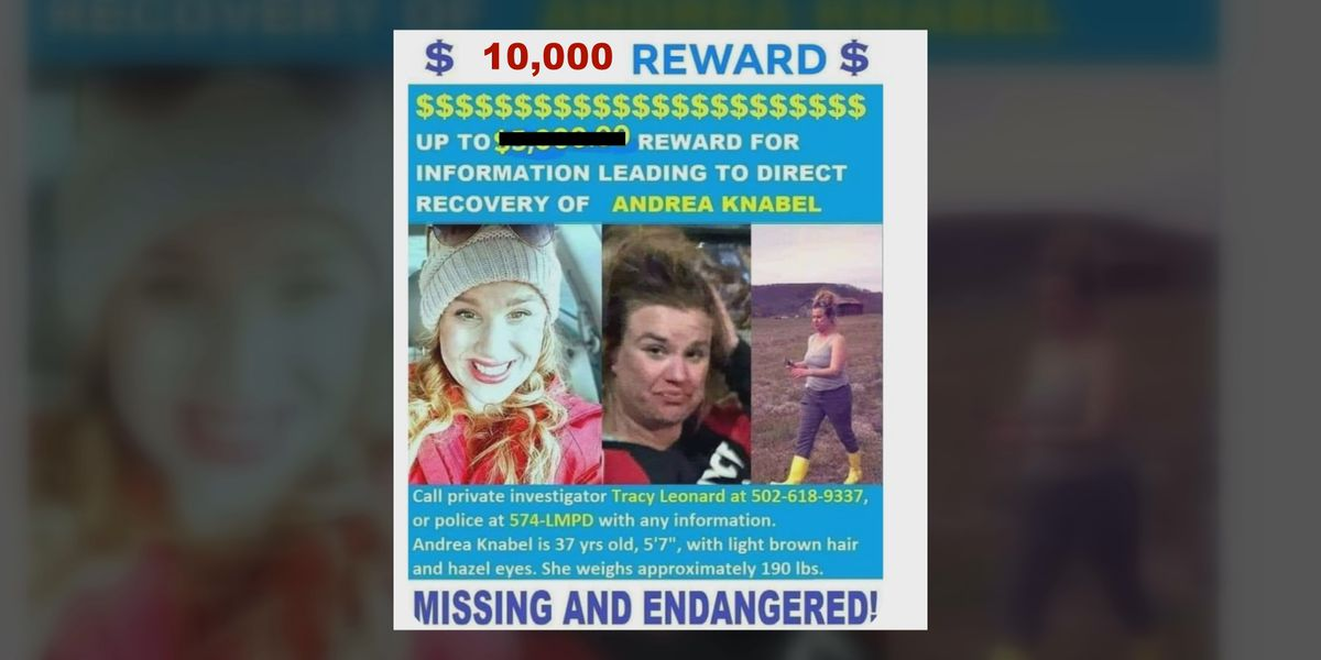 Andrea Knabel's family holding onto hope one year after her disappearance