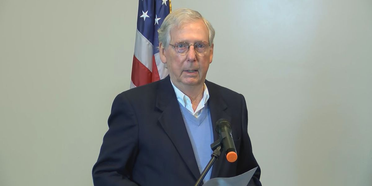 Mitch McConnell votes 'to respect the people's decision'