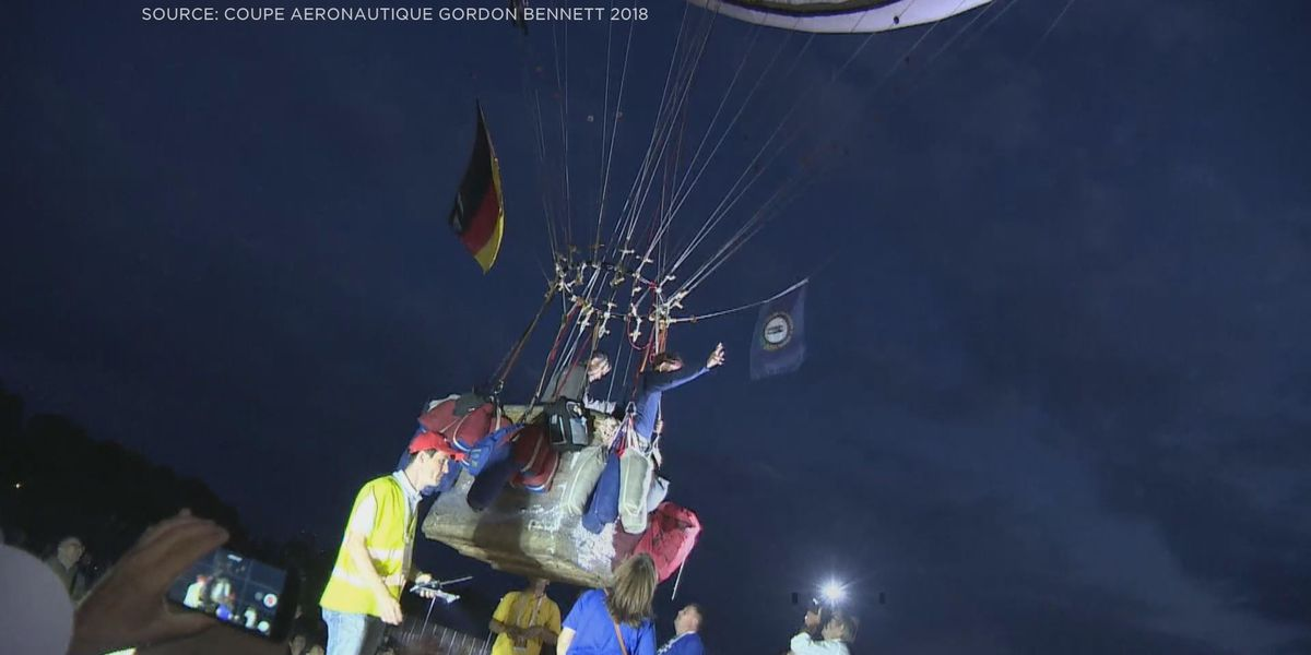 KY balloonist survives perilous trip across Europe, wins silver medal