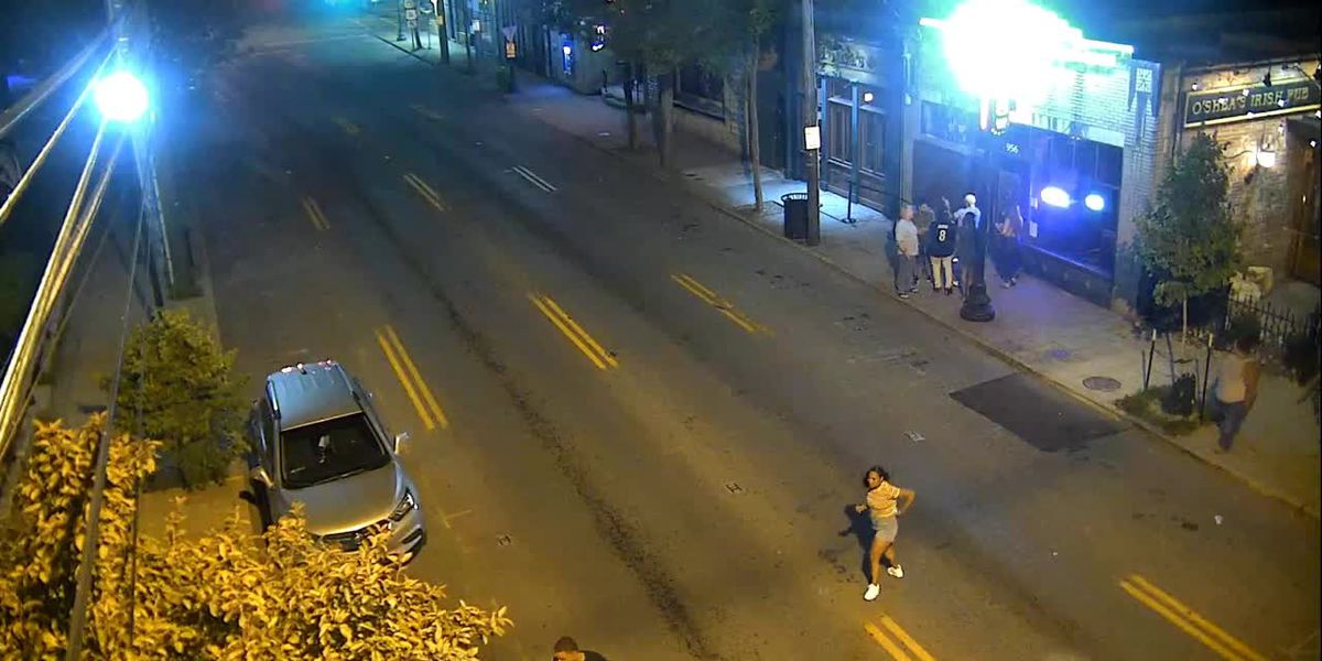GRAPHIC: Police searching for two suspects involved in assault at Highlands bar