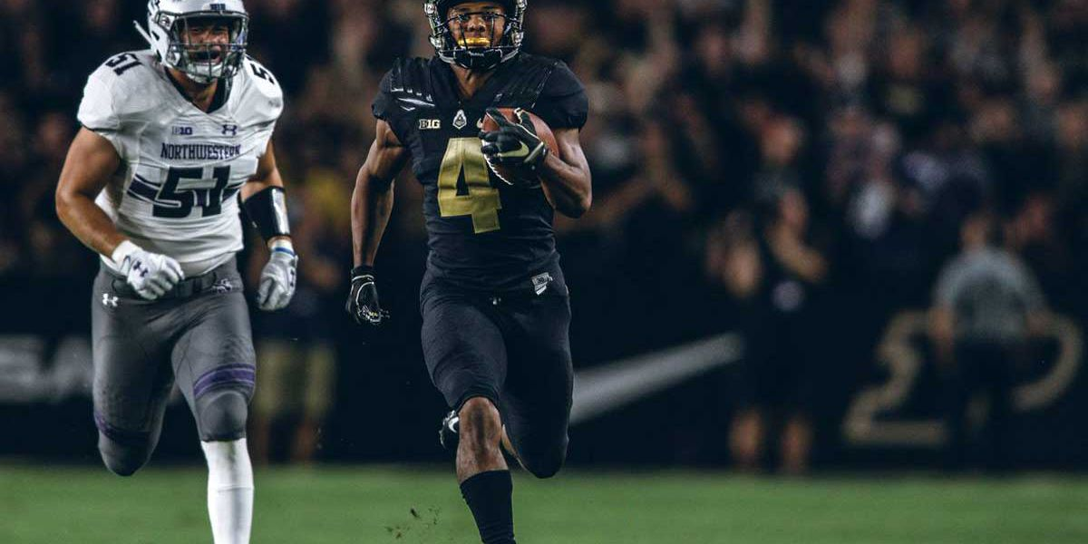 Rondale Moore wins college football's Hornung Award