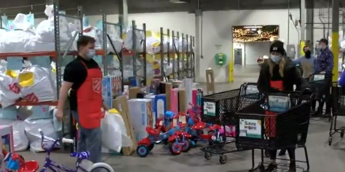 First of 3 Angel Tree distribution days a success