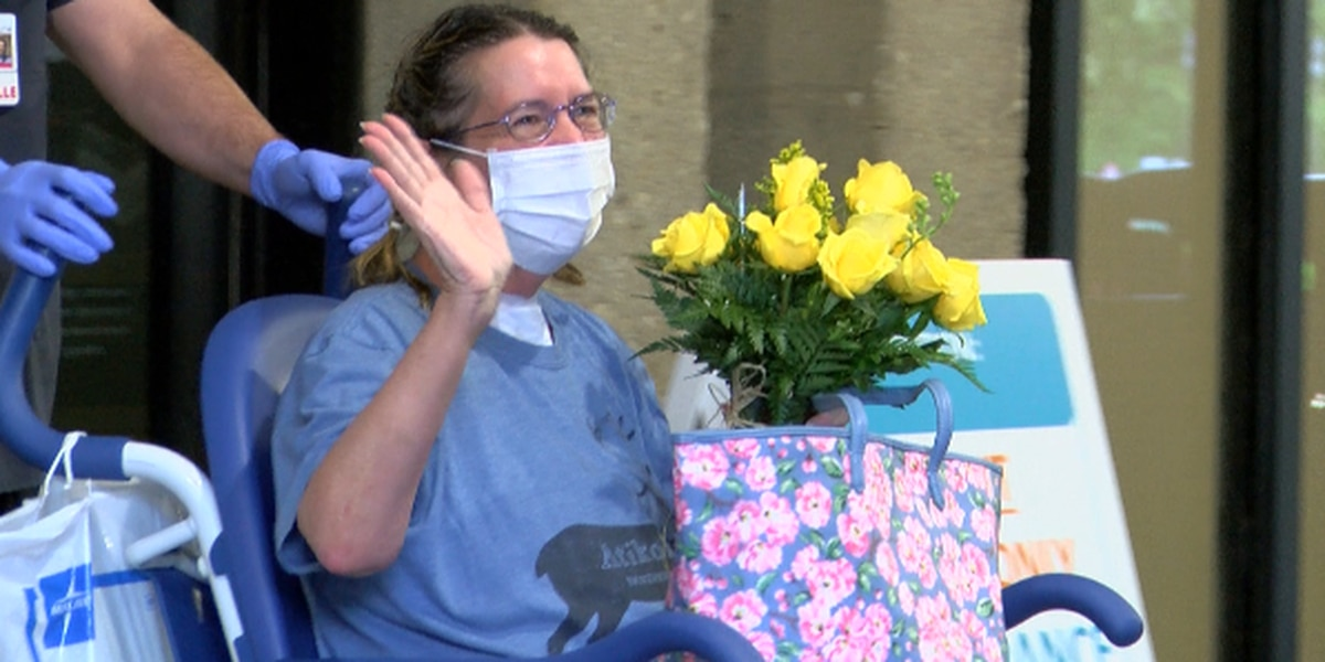 Oldham Co. woman back home after 43-day battle with COVID-19