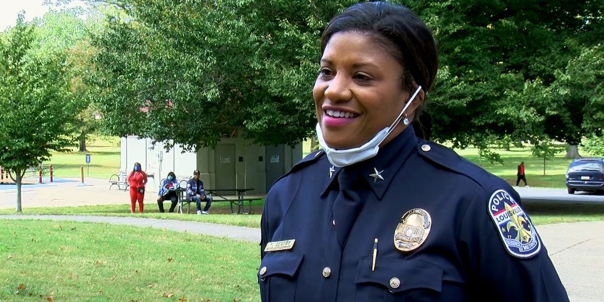 LMPD Interim Chief Yvette Gentry talks community trust, grand jury recordings at anti-violence event