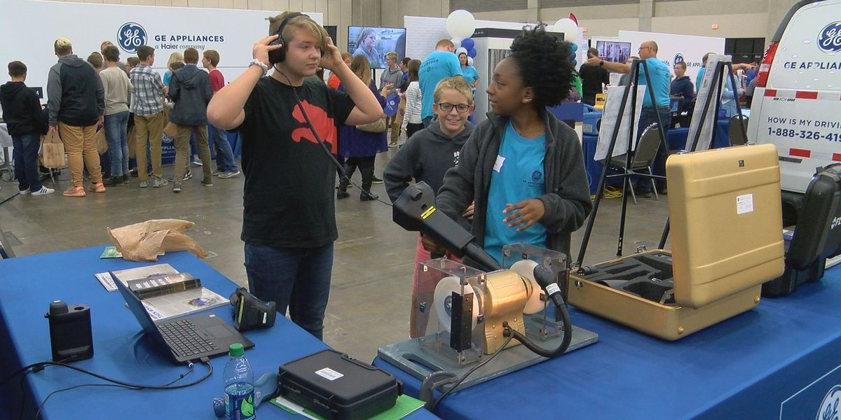 Junior Achievement hosts interactive career fair for local students