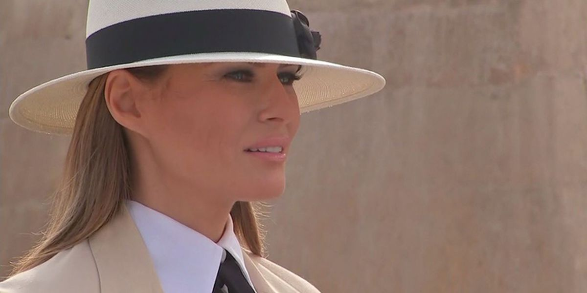 Melania Trump's visit to Africa in Pictures