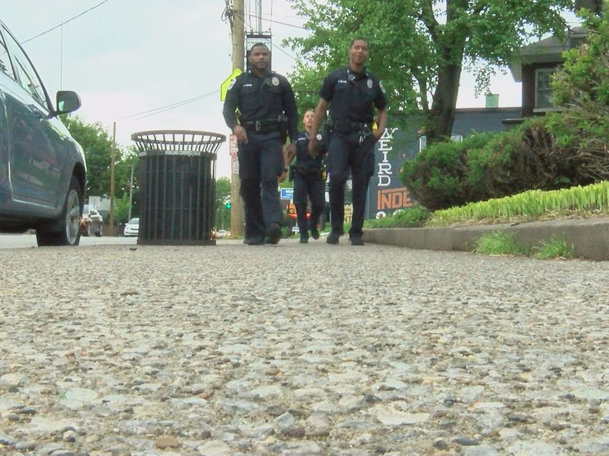 LMPD ditching cars to test foot patrols