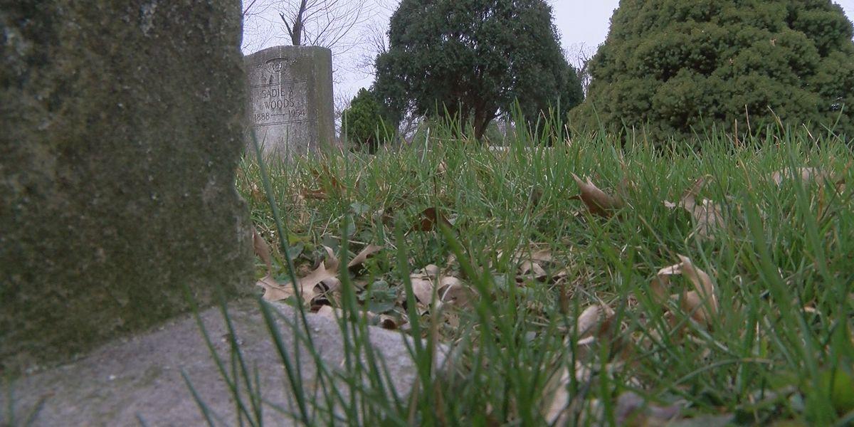 Volunteers restoring neglected cemetery in Chickasaw neighborhood