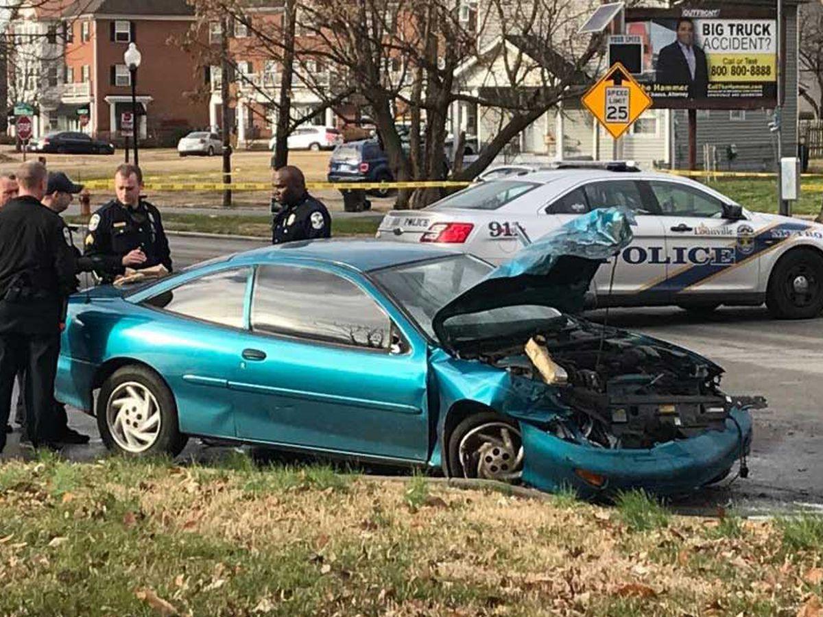1 arrested after LMPD pursuit ends in crash in Park DuValle neighborhood