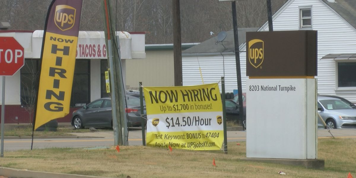 UPS seeking out-of-work residents to fill 1,000 seasonal positions