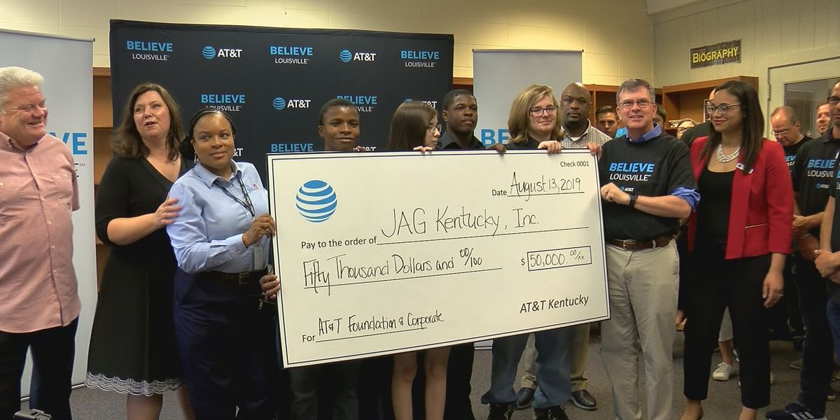 AT&T launches 'Believe Louisville' initiative to improve communities