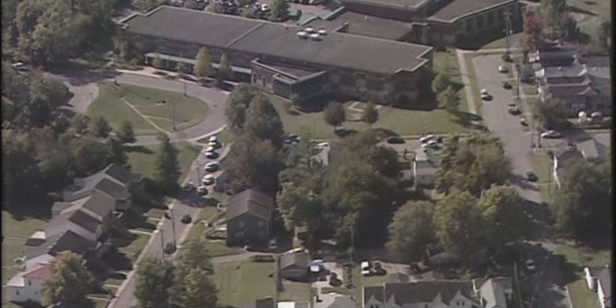 2 in custody after shots fired near school in Louisville