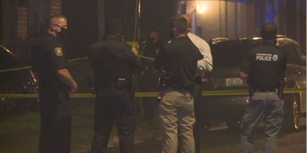 One person injured in shooting involving Lexington police officer
