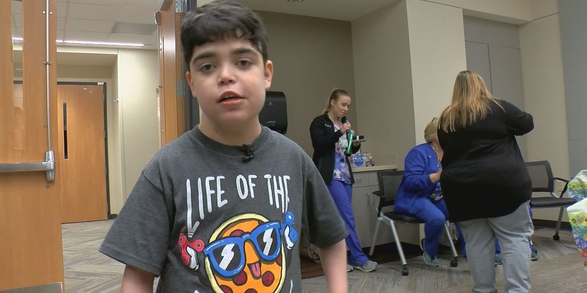 Pediatric heart transplant patient goes home