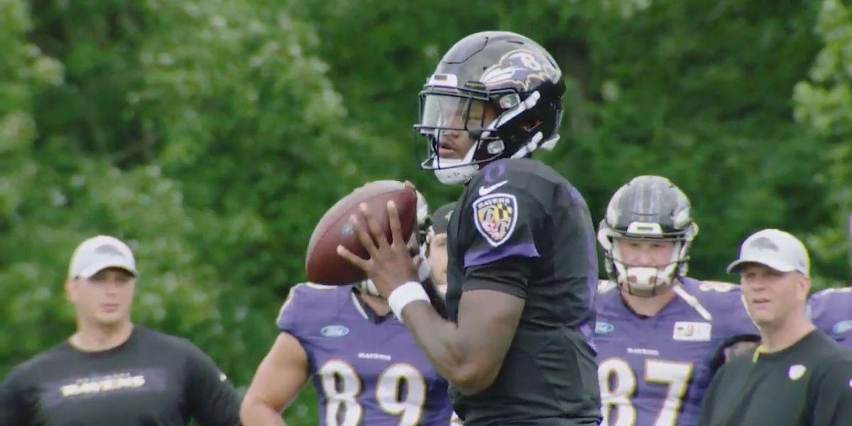 Lamar Jackson shows flashes during NFL preseason debut for Ravens