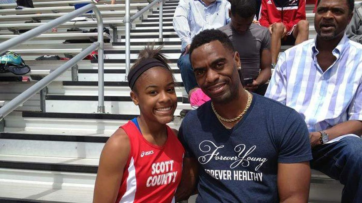 Olympian Tyson Gay reacts to verdict in daughter's murder case