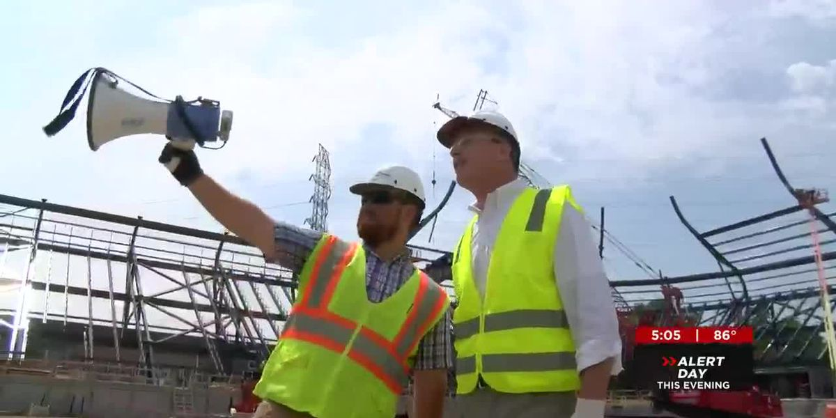 LouCity stadium on track for Spring 2020 completion, tour reveals