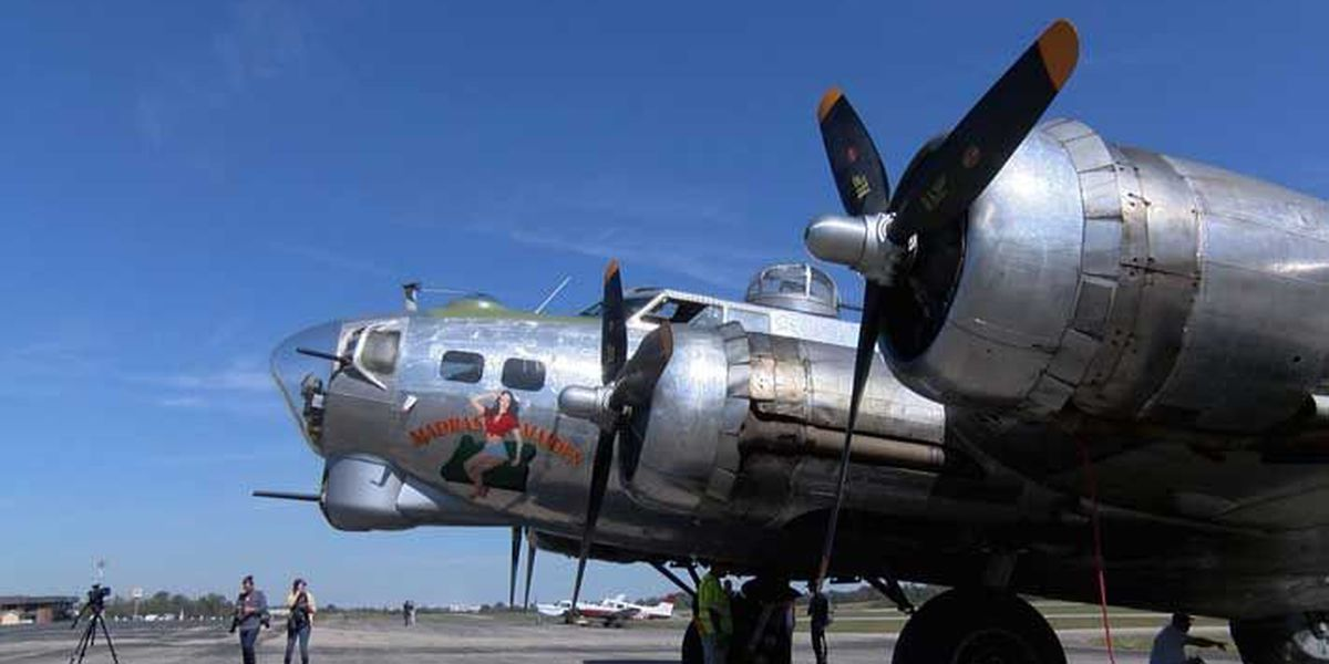 Vintage bomber takes flight over Louisville