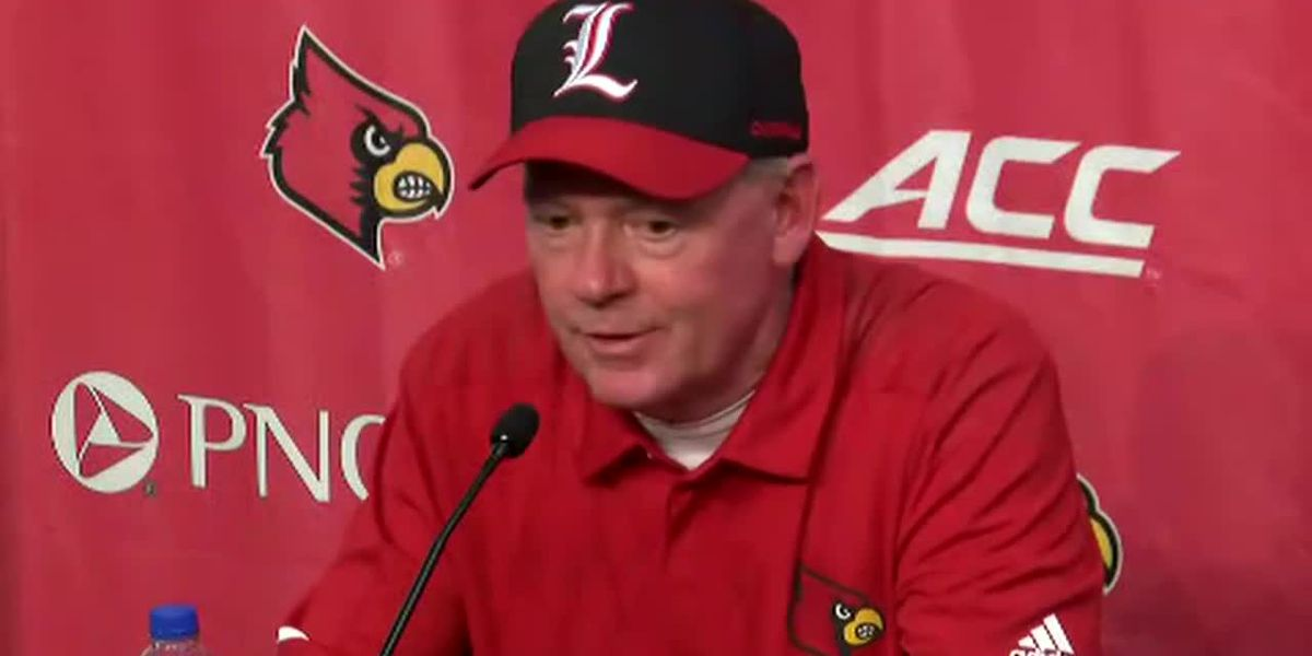 VIDEO: Bobby Petrino postgame comments following loss to GaTech