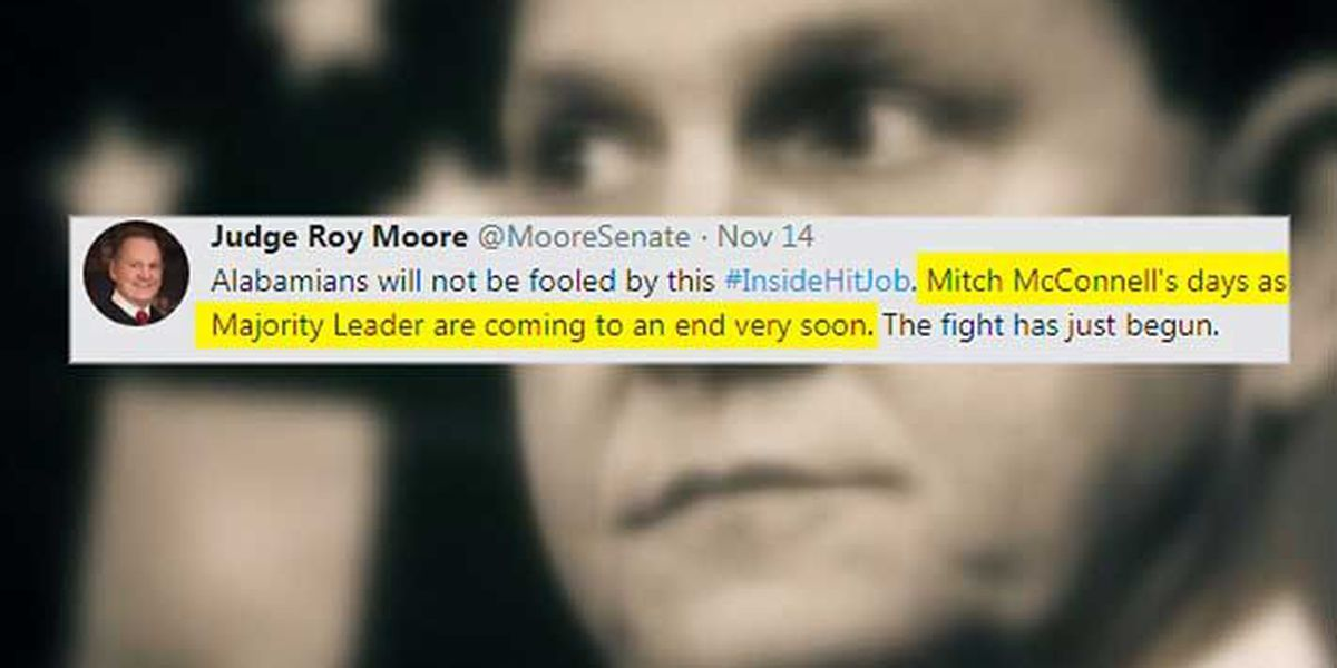 KY Senators caught up in Roy Moore spectacle