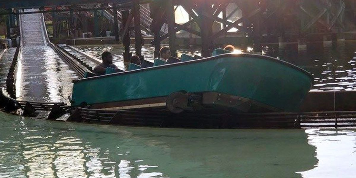 13 passengers evacuated from Kentucky Kingdom water ride