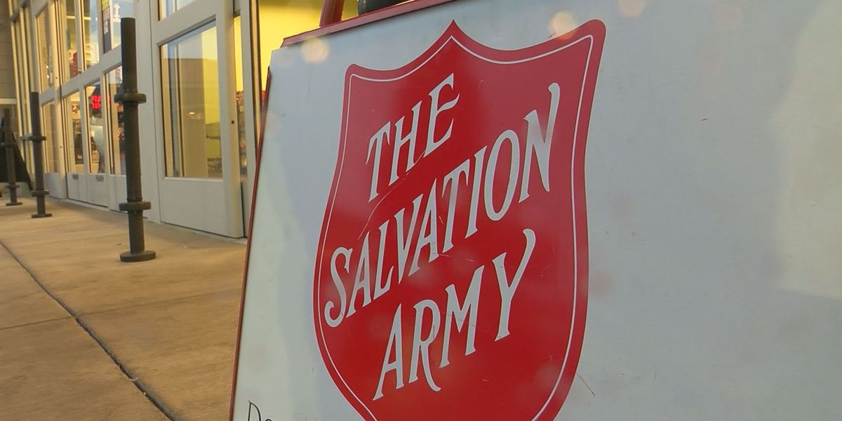 Salvation Army hoping to reach goal by Christmas Eve