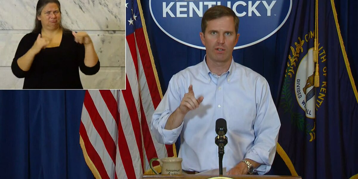 Gov. Beshear: 745 new cases of COVID-19 in Ky., 9 new deaths